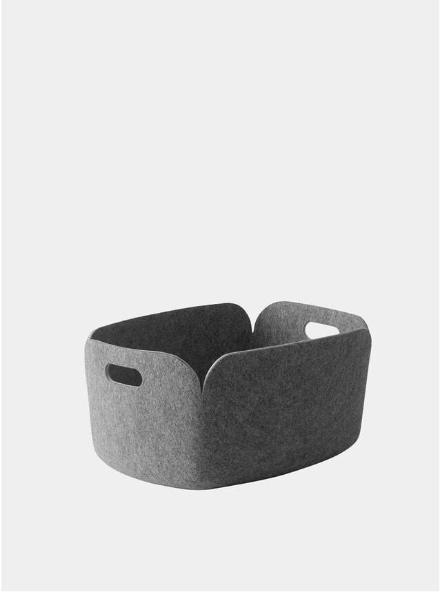 Grey Restore Storage Basket