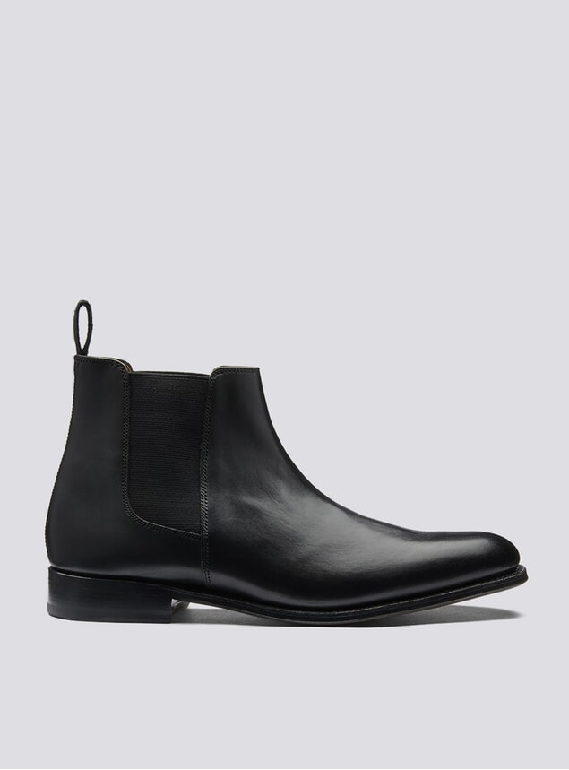 Black Declan Chelsea Boots