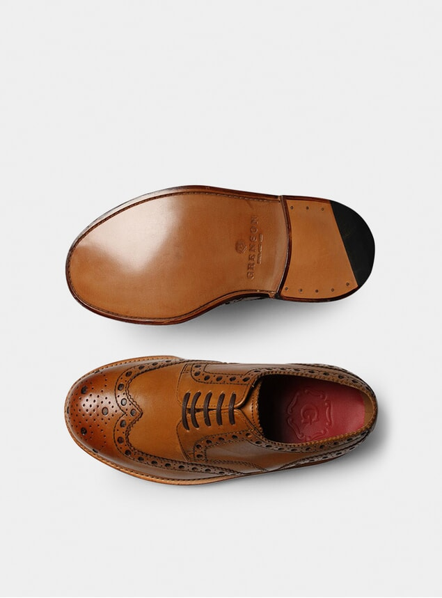 Tan Archie Brogues