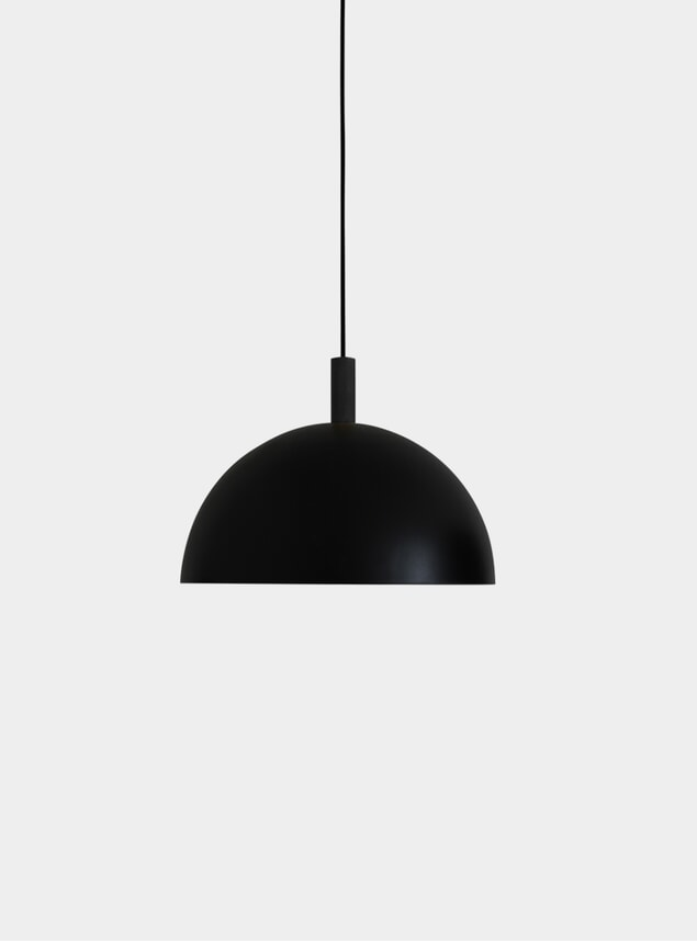 Black Ø40 Studio Pendant