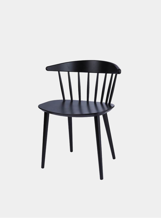 Black J104 Dining Chair