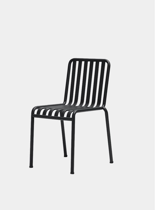 Black Palissade Outdoor Chair