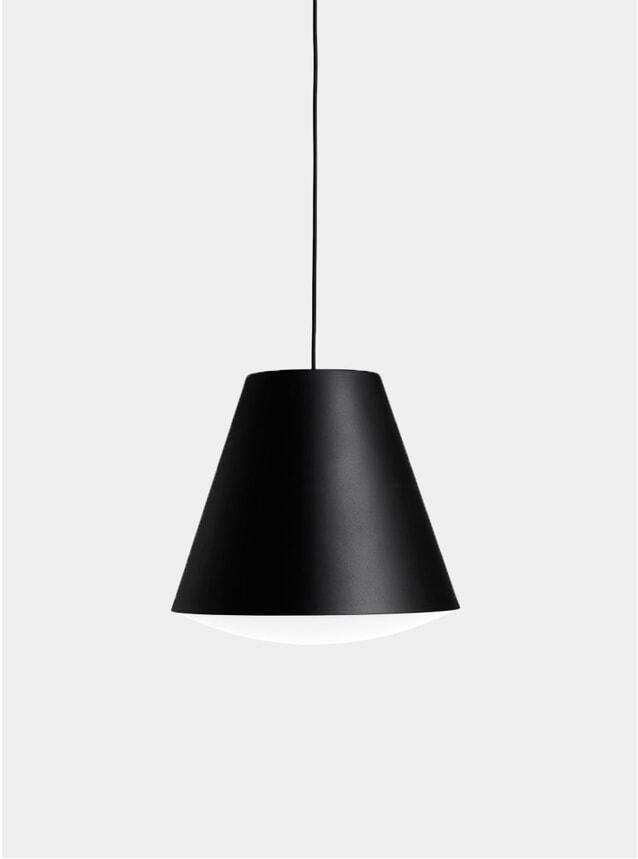 Black Sinker Pendant Light
