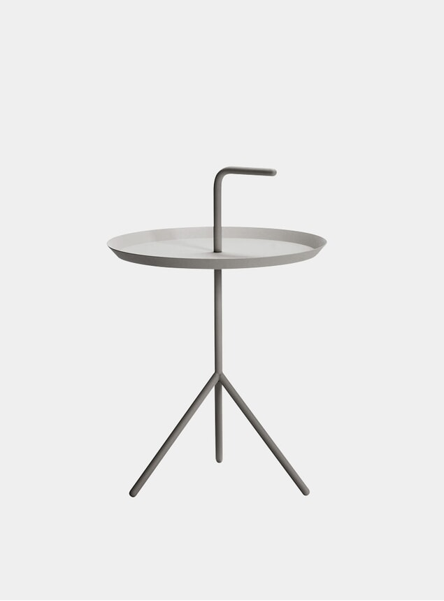 Grey DLM XL Side Table