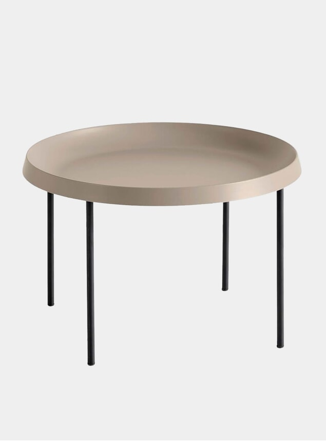 Mocca / Black Tulou Coffee Table