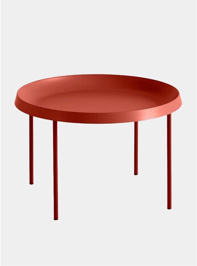 Orange & Rust Tulou Coffee Table