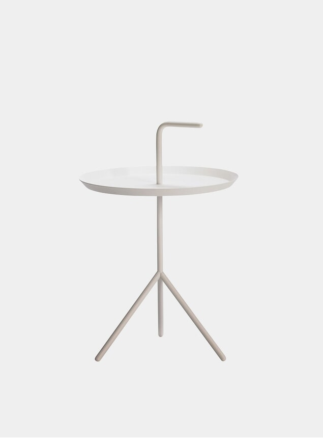 White DLM XL Side Table