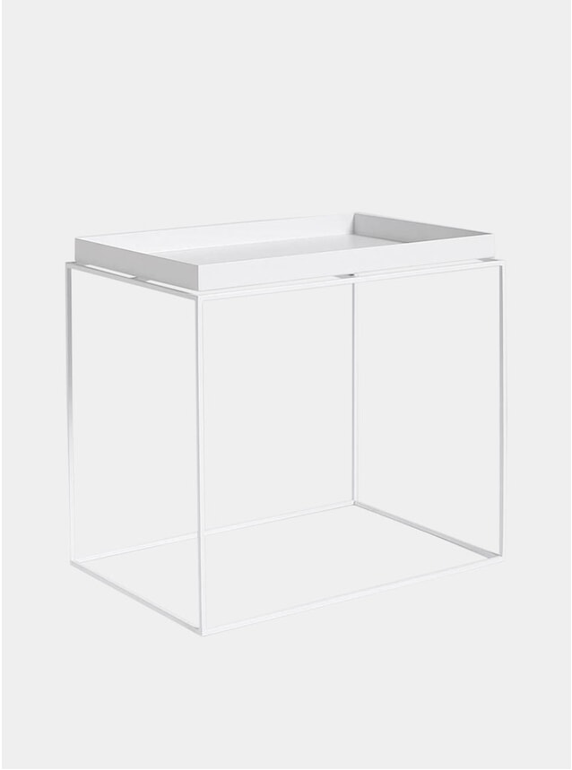 White High Tray Table