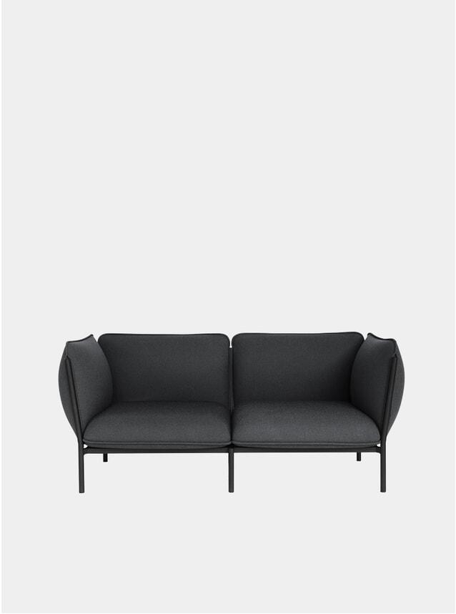 Graphite Kumo Modular 2 Seater Sofa