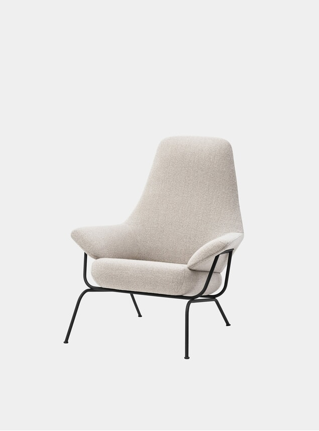 Grey Melange Hai Chair