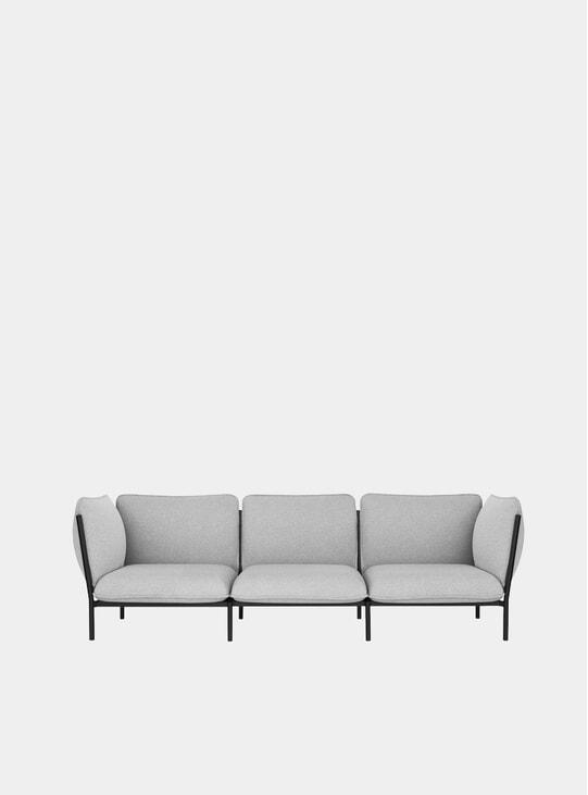 Porcelain Kumo Modular 3-Seater Sofa