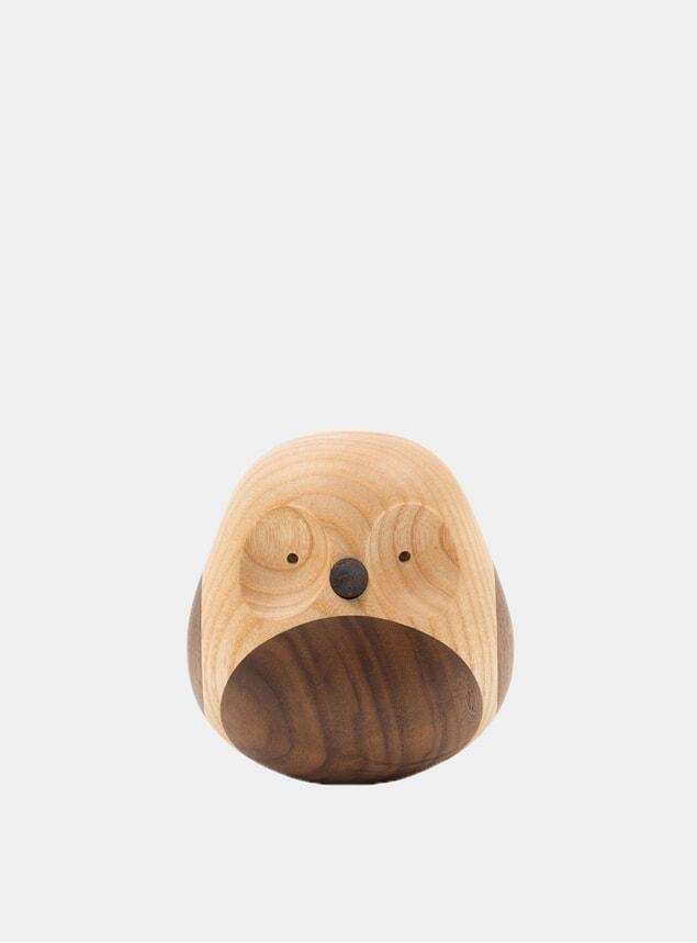 Ash Turned Owl