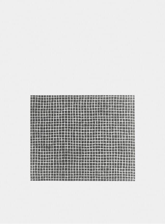 Large Grid Rug