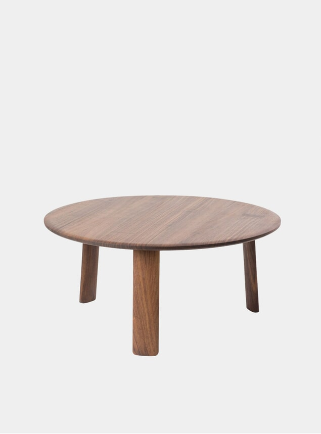 Walnut Large Alle Coffee Table
