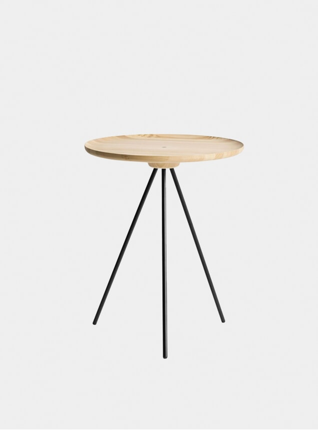Ash / Black Key Side Table