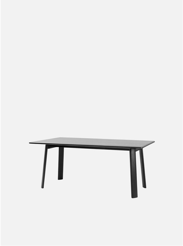 Black Alle 180cm Dining Table