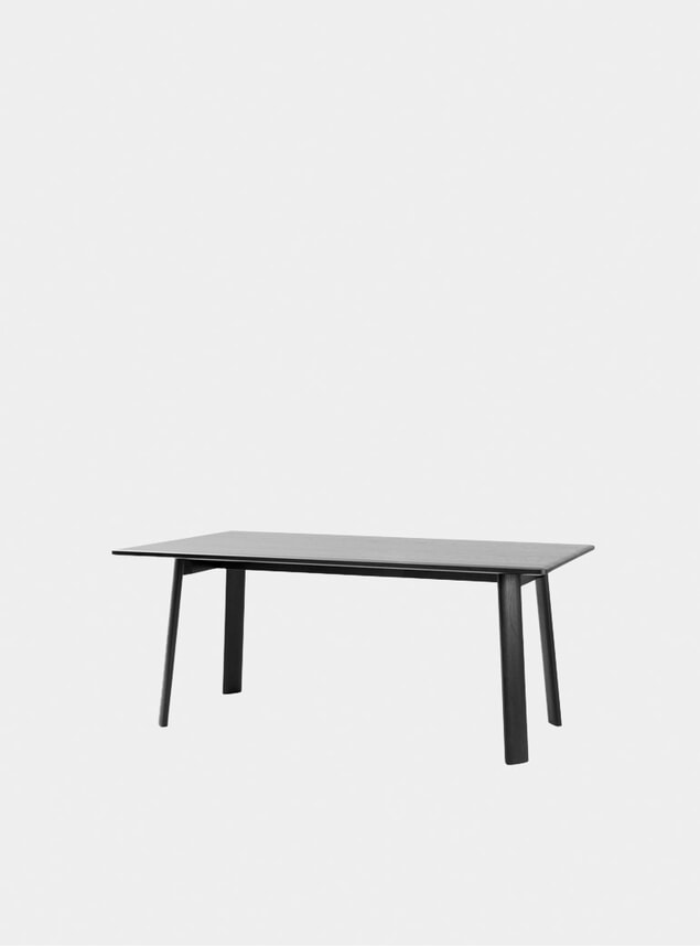 Black Alle 220cm Dining Table