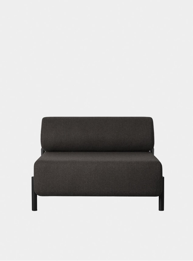 Black / Brown Palo Single Seater
