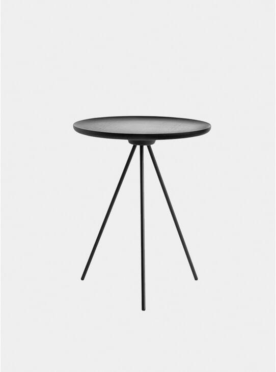 Black Key Side Table