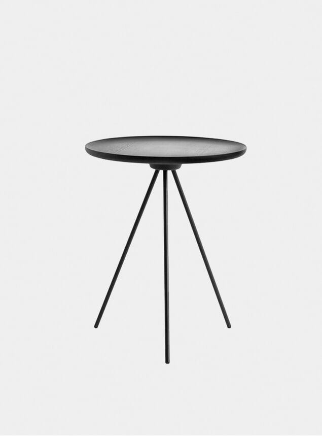 Black Key Side Table