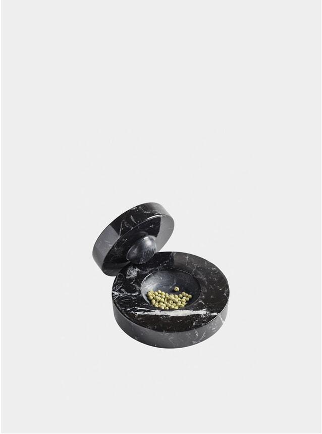 Black Marquina Table Mortar
