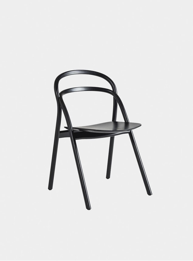Black Udon Dining Chair