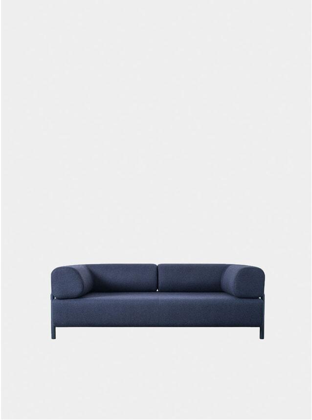 Blue Palo Two Seater Sofa + Armrest