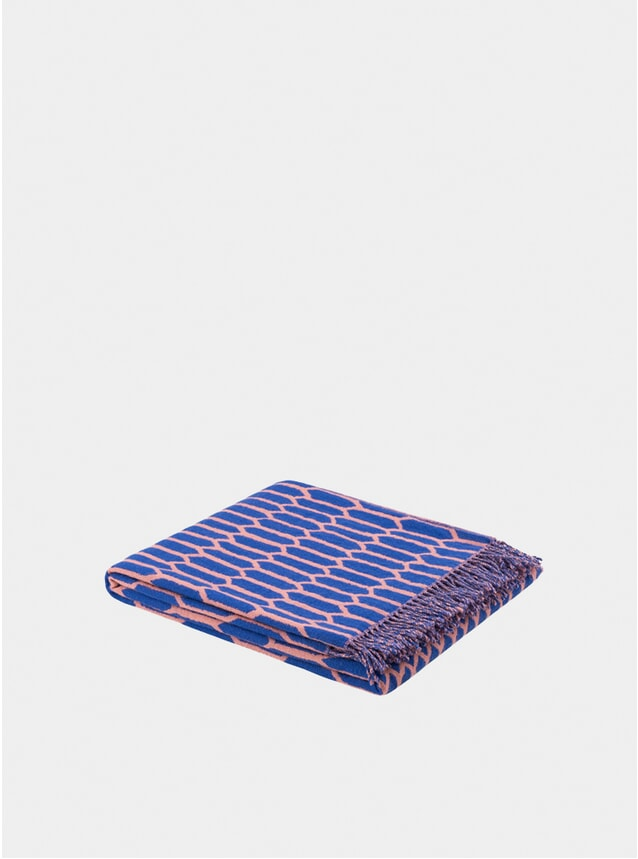 Blue /  Pink Kenno Throw