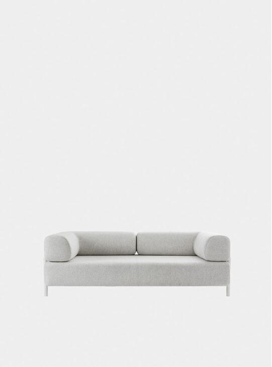 Chalk Palo Two Seater Sofa + Armrest