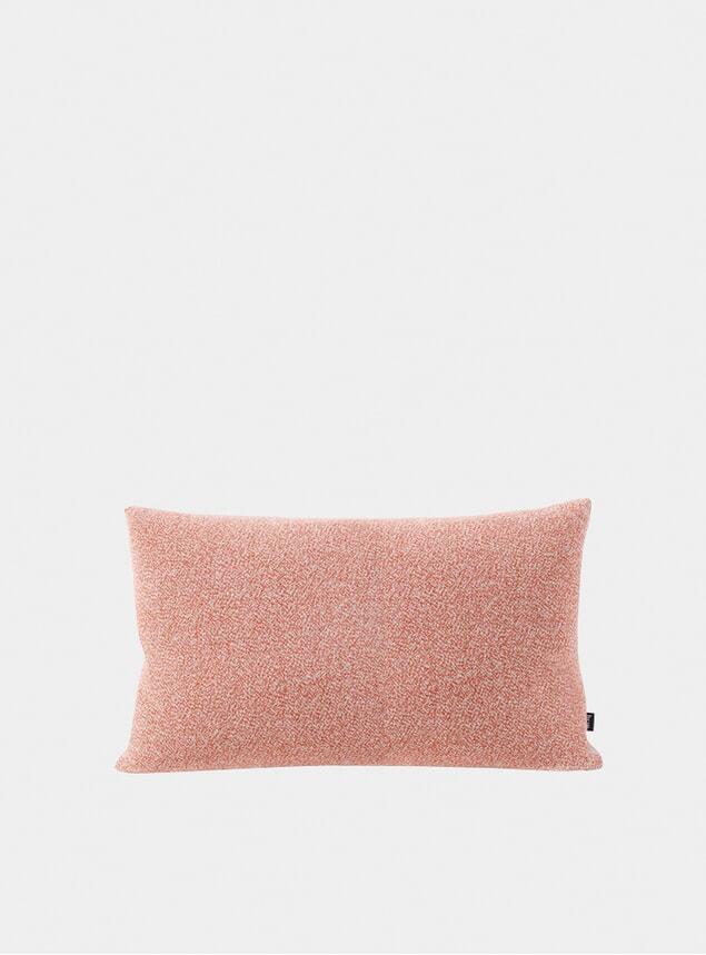 Coral Melange Large Cushion