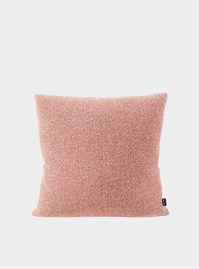 Coral Melange Medium Cushion