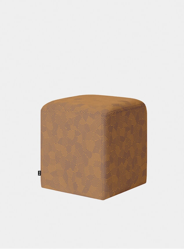 Ginger Bon Cube Pouf