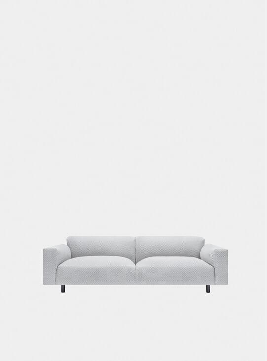 Grey Koti Three Seater Sofa