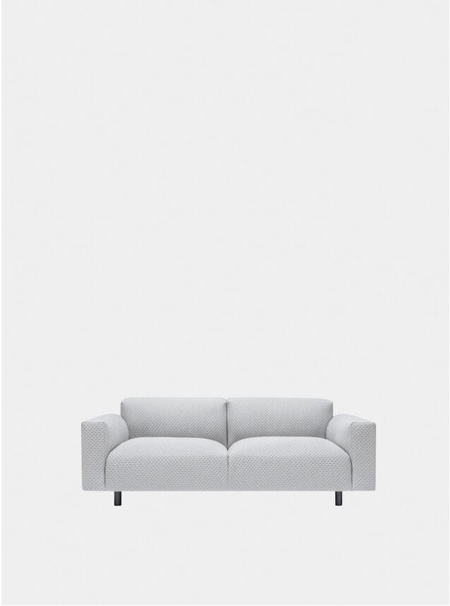 Grey Koti Two Seater Sofa