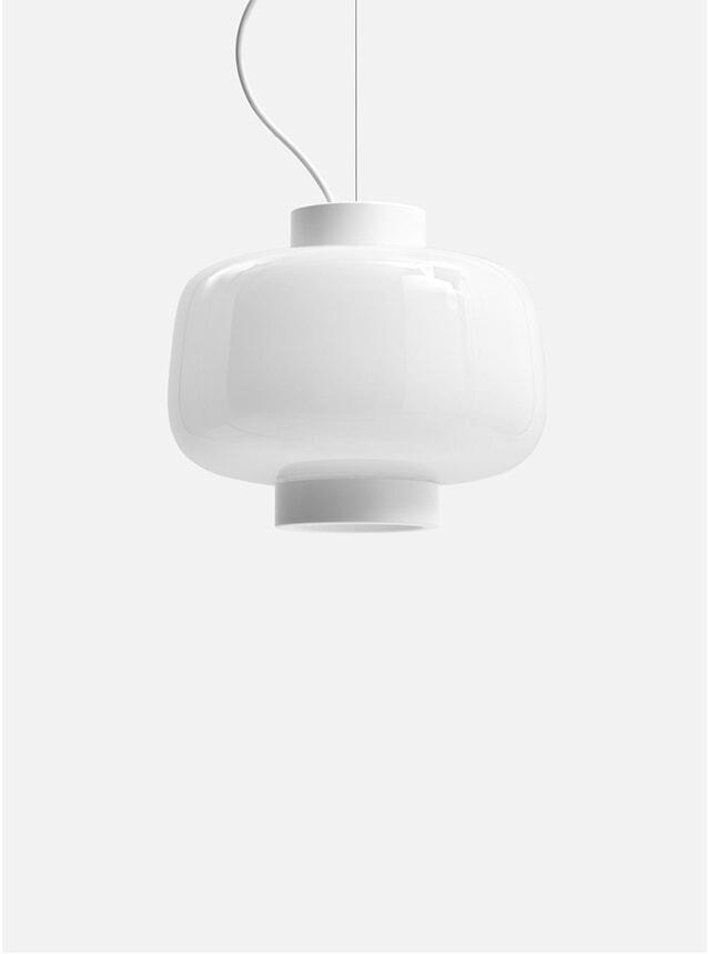 Ivory Dusk Large Lamp