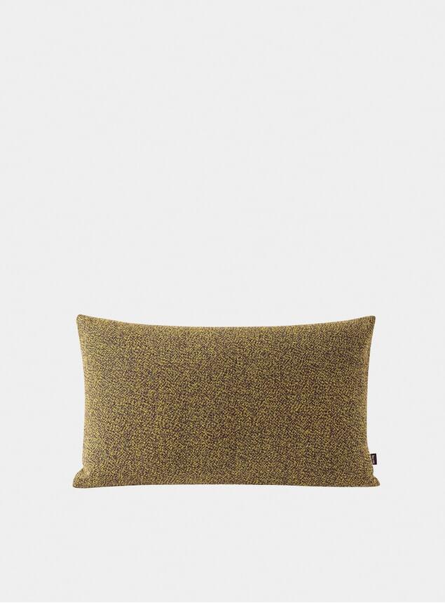 Mustard Melange Large Cushion