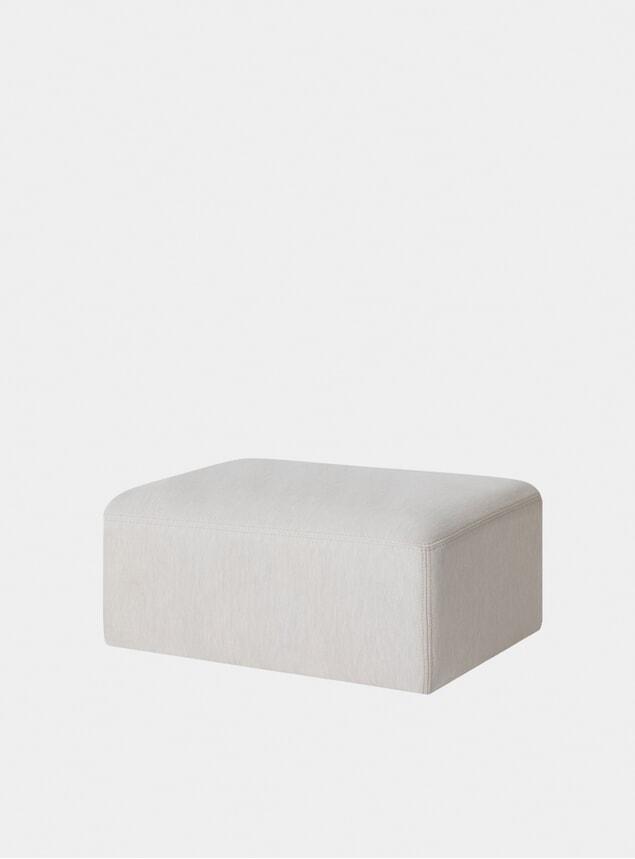 Shell Bon Brick Pouf