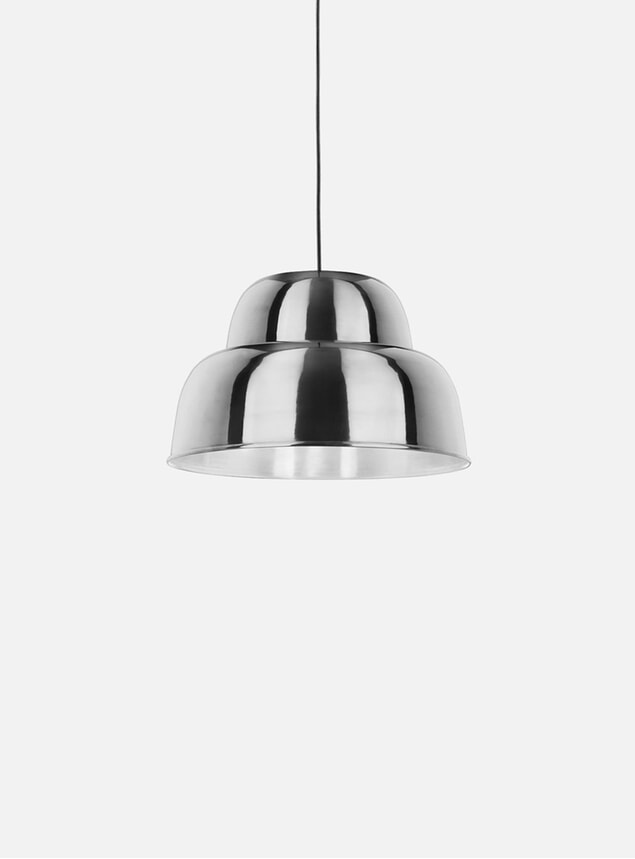 Chrome Levels Medium Pendant Lamp