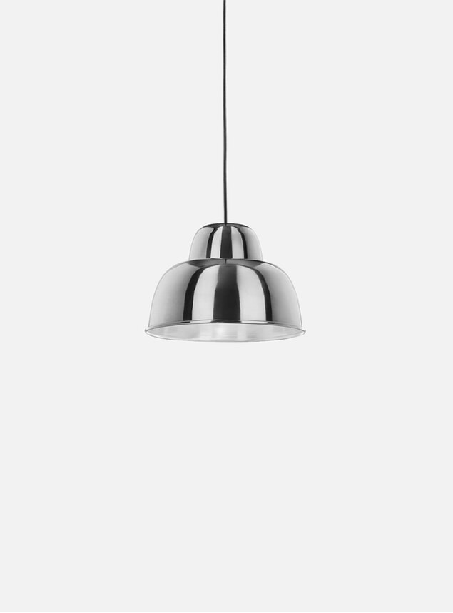 Chrome Levels Small Lamp