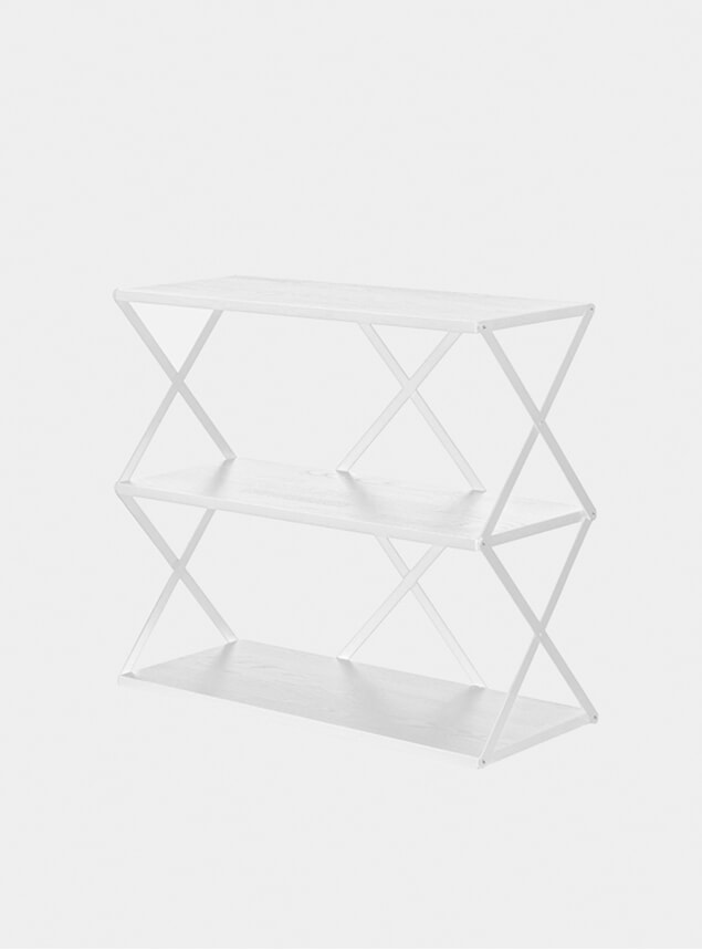 White Lift 3 Wall Shelf