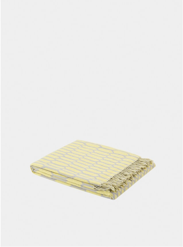 Yellow / Grey Kenno Throw