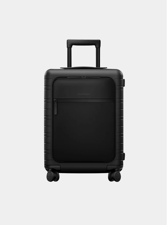 Black / Multi Shell Model M5 Suitcase