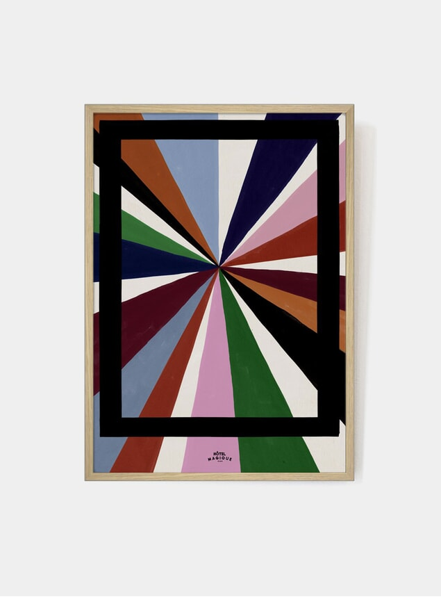 Magique Colour Palette Art Print