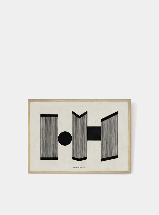 Retrospective Nº 2 Art Print
