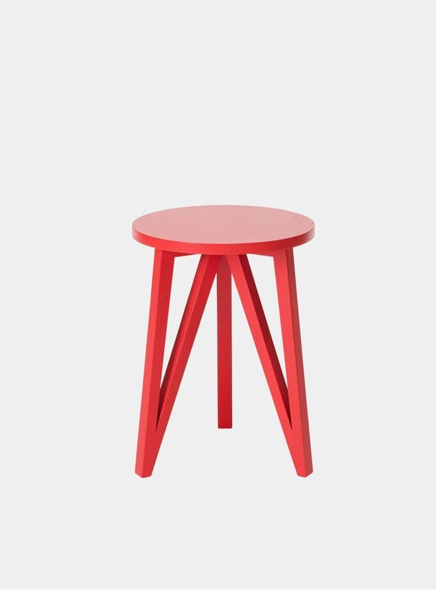 Pure Red JL2 Faber Side Table