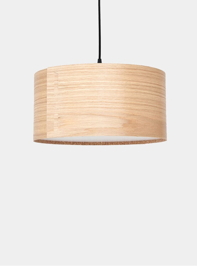 Oak Tab Lamp Shade