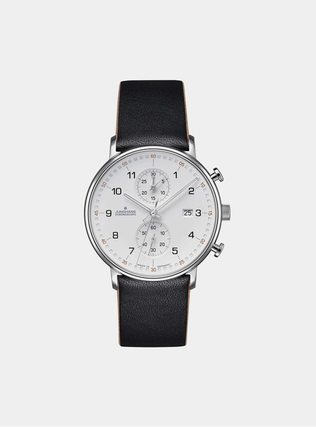Black / White Form C Chronoscope 041/4771.00 Watch