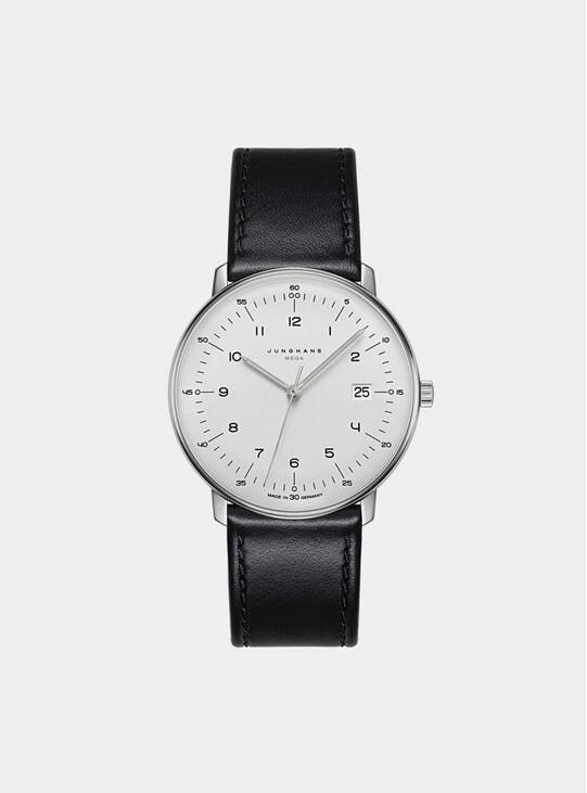 Black / White Max Bill Mega 058/4820.00 Watch