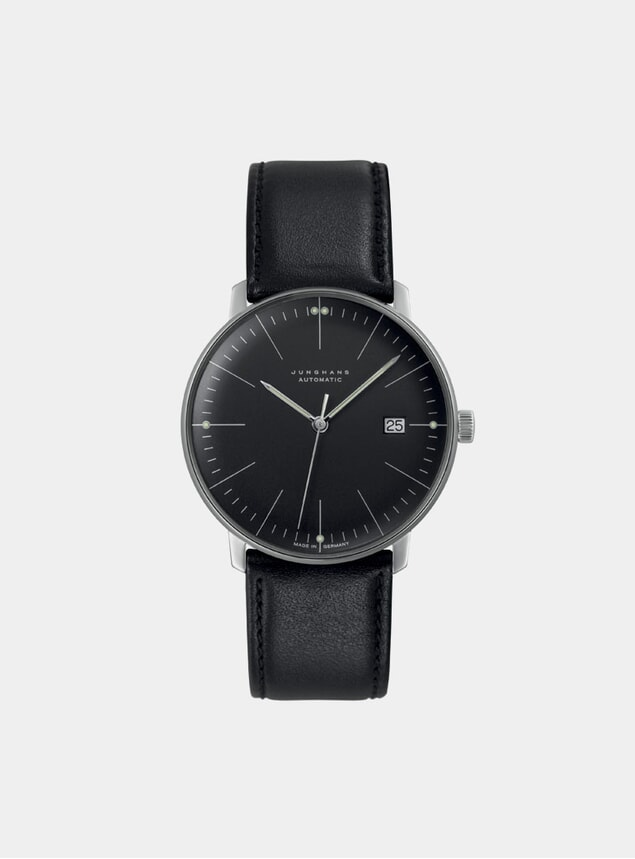 Black Max Bill Automatic 027/4701.04 Watch
