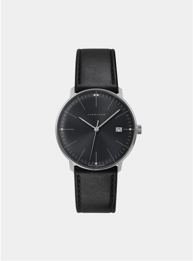 Black Max Bill Quartz 041/4465.00 Watch